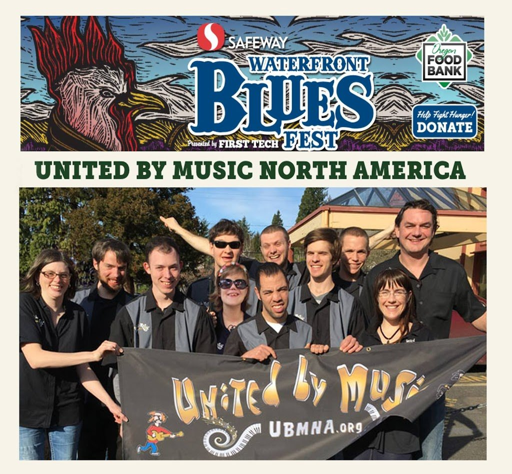 Catch us at the Blues Fest this weekend in Portland!