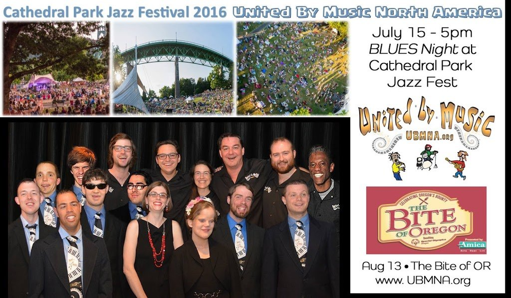 36th Annual Cathedral Park Jazz Festival on Friday, July 15th