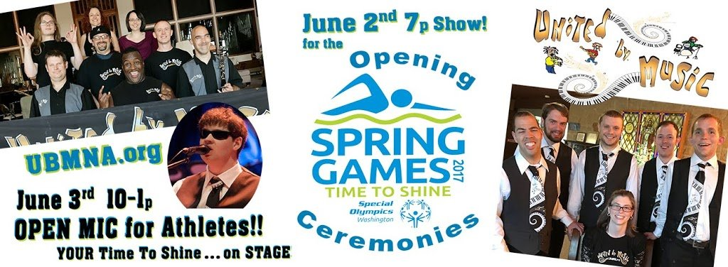 PERFORMING at the OPENING CEREMONIES! Special Olympics Washington State Spring Games