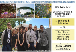 Cathedral Park Jazz Festival 2017