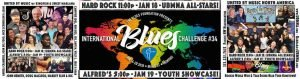 We're performing with the Blues Foundation in Memphis, Jan 18 & 19th!