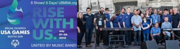 United by Music North America to Perform at USA Games Special Olympics 2018!