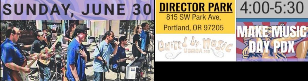 Fun for the whole family: Make Music Day PDX 2019!
